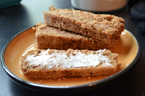 Zinni Cake (aka Zucchini Bread)