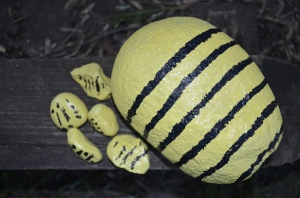 Our family of bees.