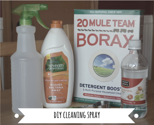 DIY Outdoor Furniture Cleaning Spray